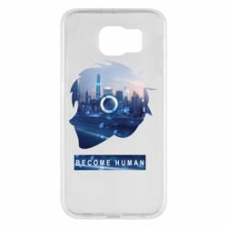 Чохол для Samsung S6 Silhouette City Detroit: Become Human