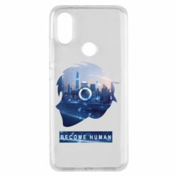 Чохол для Xiaomi Mi A2 Silhouette City Detroit: Become Human