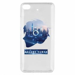 Чохол для Xiaomi Mi 5s Silhouette City Detroit: Become Human