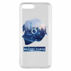 Чохол для Xiaomi Mi6 Silhouette City Detroit: Become Human