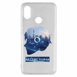 Чохол для Xiaomi Mi8 Silhouette City Detroit: Become Human