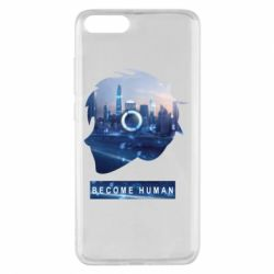 Чохол для Xiaomi Mi Note 3 Silhouette City Detroit: Become Human