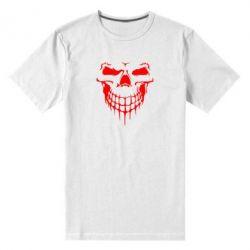 Мужская стрейчевая футболка Silhouette of a skull