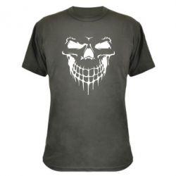 Камуфляжная футболка Silhouette of a skull