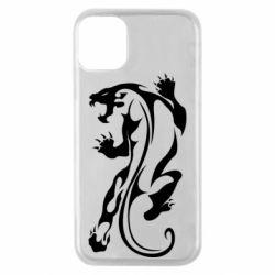 Чехол для iPhone 11 Pro Silhouette of a tiger