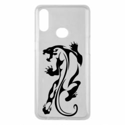 Чехол для Samsung A10s Silhouette of a tiger