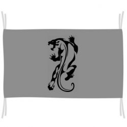 Флаг Silhouette of a tiger