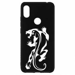 Чехол для Xiaomi Redmi S2 Silhouette of a tiger