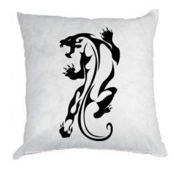 Подушка Silhouette of a tiger