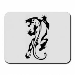 Коврик для мыши Silhouette of a tiger