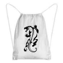 Рюкзак-мешок Silhouette of a tiger