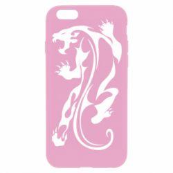Чехол для iPhone 6 Plus/6S Plus Silhouette of a tiger