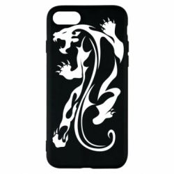Чехол для iPhone 7 Silhouette of a tiger