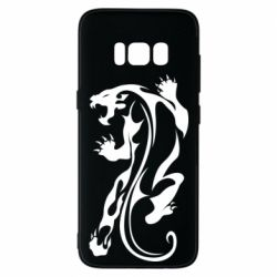 Чехол для Samsung S8 Silhouette of a tiger