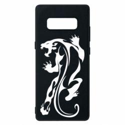 Чехол для Samsung Note 8 Silhouette of a tiger