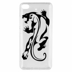 Чехол для Xiaomi Mi 5s Silhouette of a tiger