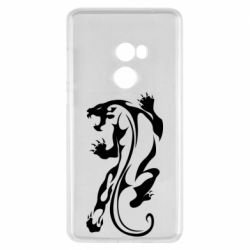 Чехол для Xiaomi Mi Mix 2 Silhouette of a tiger