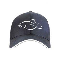 кепка Силуэт рыбы - FatLine