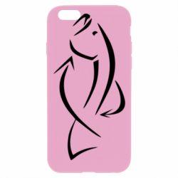 Чехол для iPhone 6 Plus/6S Plus Силуэт рыбы - FatLine