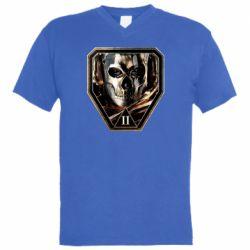 """Чоловіча футболка з V-подібним вирізом Simon """"Guest"""" Riley"""