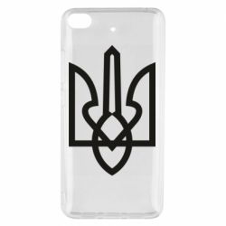 Чехол для Xiaomi Mi 5s Simple coat of arms with sharp corners