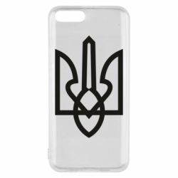Чехол для Xiaomi Mi6 Simple coat of arms with sharp corners