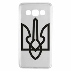 Чехол для Samsung A3 2015 Simple coat of arms with sharp corners
