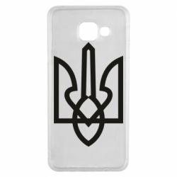 Чехол для Samsung A3 2016 Simple coat of arms with sharp corners