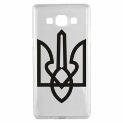 Чехол для Samsung A5 2015 Simple coat of arms with sharp corners