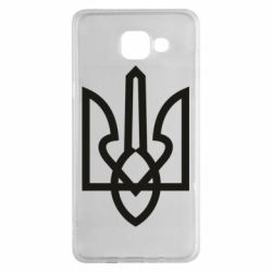 Чехол для Samsung A5 2016 Simple coat of arms with sharp corners