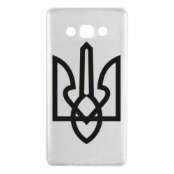 Чехол для Samsung A7 2015 Simple coat of arms with sharp corners