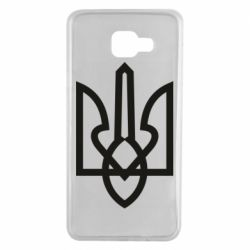 Чехол для Samsung A7 2016 Simple coat of arms with sharp corners