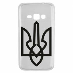 Чехол для Samsung J1 2016 Simple coat of arms with sharp corners