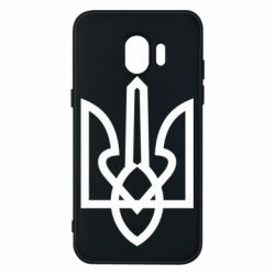 Чехол для Samsung J2 2018 Simple coat of arms with sharp corners