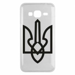 Чехол для Samsung J3 2016 Simple coat of arms with sharp corners