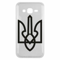 Чехол для Samsung J5 2015 Simple coat of arms with sharp corners