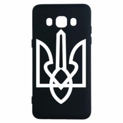 Чехол для Samsung J5 2016 Simple coat of arms with sharp corners