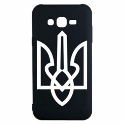 Чехол для Samsung J7 2015 Simple coat of arms with sharp corners