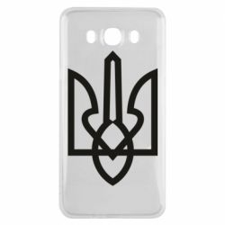 Чехол для Samsung J7 2016 Simple coat of arms with sharp corners