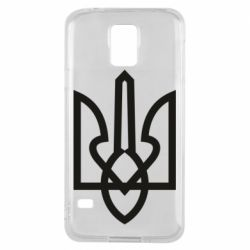 Чехол для Samsung S5 Simple coat of arms with sharp corners