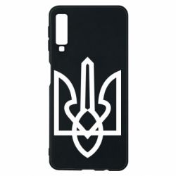 Чехол для Samsung A7 2018 Simple coat of arms with sharp corners