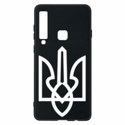 Чехол для Samsung A9 2018 Simple coat of arms with sharp corners