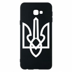 Чехол для Samsung J4 Plus 2018 Simple coat of arms with sharp corners