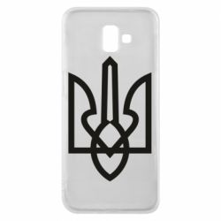 Чехол для Samsung J6 Plus 2018 Simple coat of arms with sharp corners