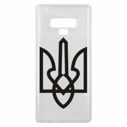 Чехол для Samsung Note 9 Simple coat of arms with sharp corners
