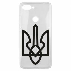 Чехол для Xiaomi Mi8 Lite Simple coat of arms with sharp corners