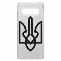 Чехол для Samsung S10+ Simple coat of arms with sharp corners