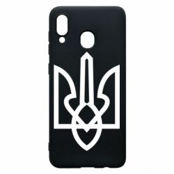 Чехол для Samsung A20 Simple coat of arms with sharp corners