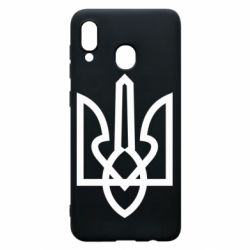 Чехол для Samsung A30 Simple coat of arms with sharp corners
