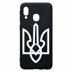 Чехол для Samsung A40 Simple coat of arms with sharp corners
